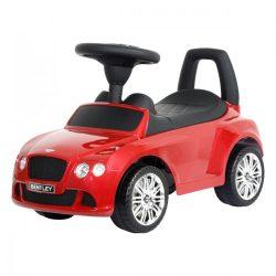 Bentley GT lábbal hajtós autó 1,5 éves kortól, piros