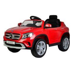 Mercedes terepjáró elektromos beülős autó, 3 éves kortól, 3 km/h, piros