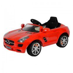 Mercedes SLS elektromos beülős autó, 3 éves kortól, 3 km/h, piros