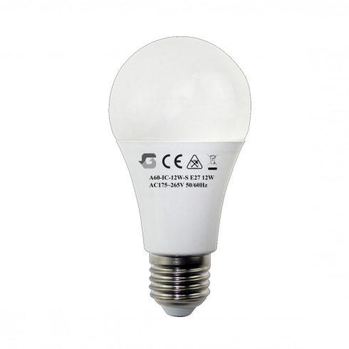 Mozgásérzékelős 12W LED izzó