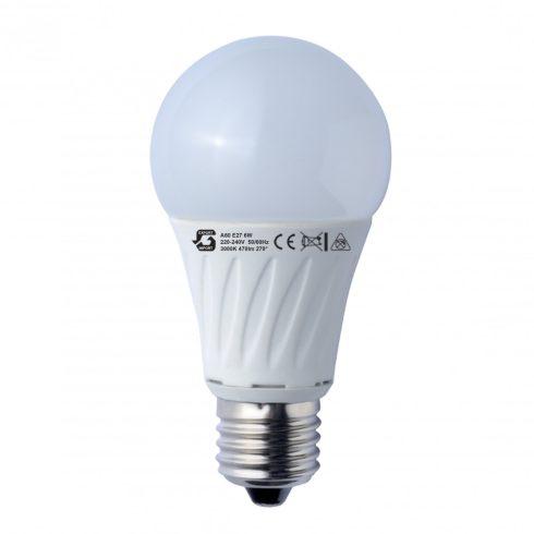A60 6W E27 LED izzó