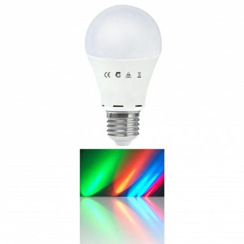 Színváltós 7,5W E27 LED izzó