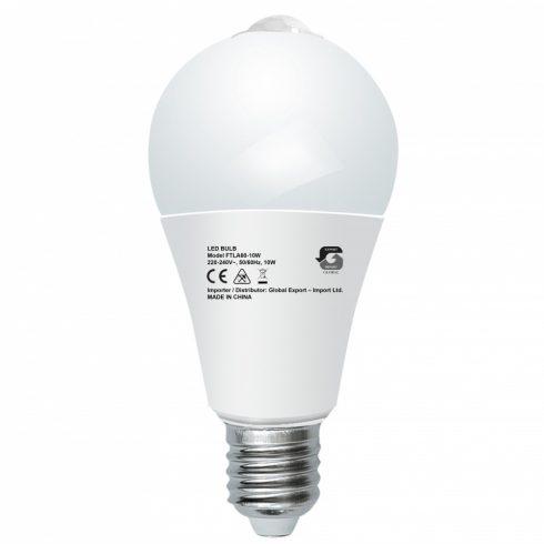 Mozgásérzékelős 10W LED izzó
