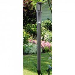 Solar inox kerti lámpa