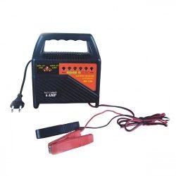 Akkumulátor töltő 12V 6amp 230V 50/60Hz 80W