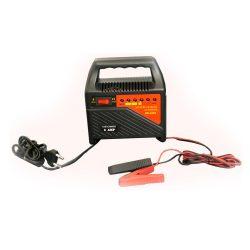 Akkumulátor töltő 6amp 6-12V  230V 50/60Hz 80W
