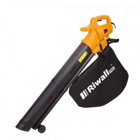 Riwall PRO REBV 3200 E elektromos lombszívó/lombfúvó 3200 W motorral