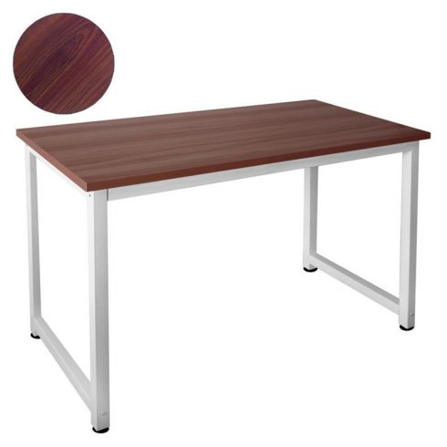 Aldabra HWD12060 íróasztal, irodai asztal, sötétbarna színben