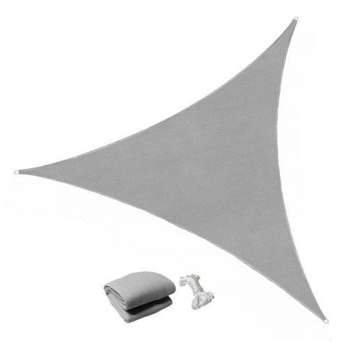 Aldabra SU-3 GY háromszög napvitorla, szürke