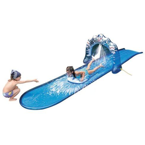 Vizes csúszópálya, 5 méter hosszú, kék színben