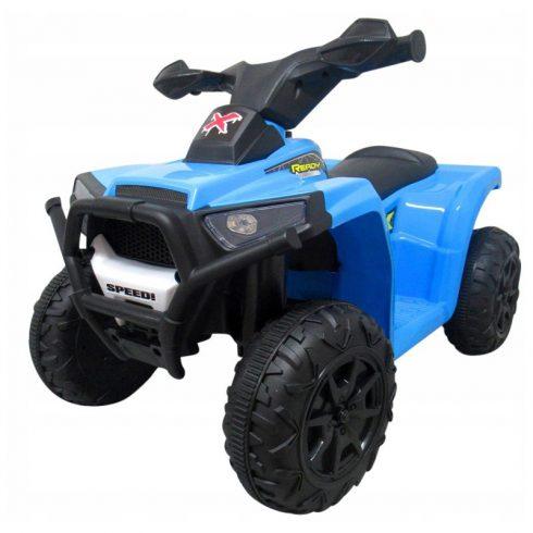 J8 elektromos quad gyerekeknek, kék színben