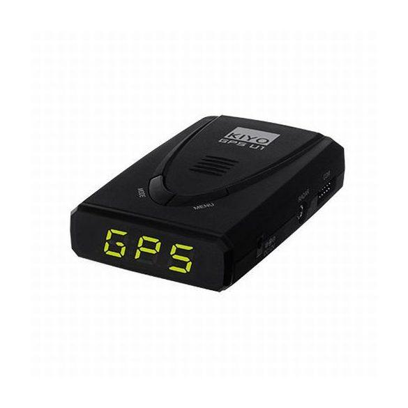 GPS U1 telepített traffipaxjelző teljes EU adatbázissal