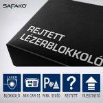 Safako AntyLaser UPro 4 lézerblokkoló (előre-hátra)