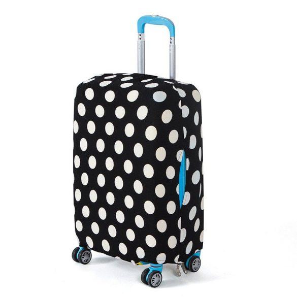 BP-A4XL bőrönd védő borító huzat - pöttyös - XL - nagy bőrönd