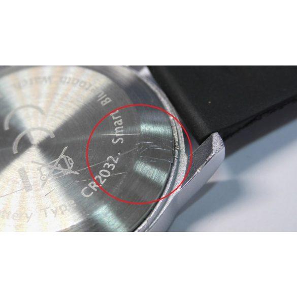 Safako SmartWatch 015 vízálló okosóra – karcos hátlap - ezüst
