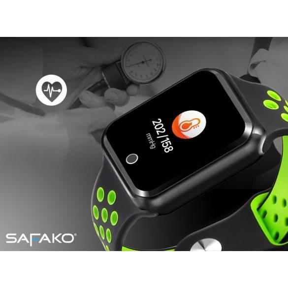Safako SWP10 okosóra (fekete- zöld színben)