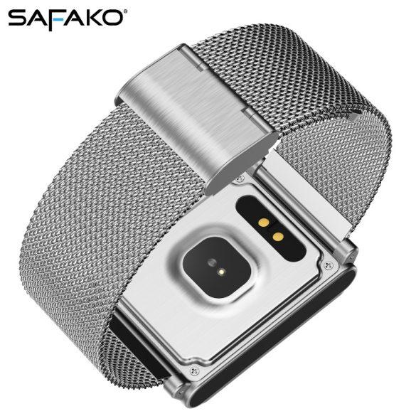 Safako SWP20 okosóra ezüst színben + ajándék szíjjal