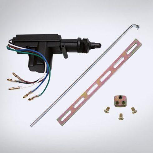 Univerzális központizár motor és tartozékai (5 vezetékes)