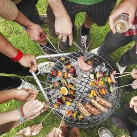 Sütés, kerti sütés, grill