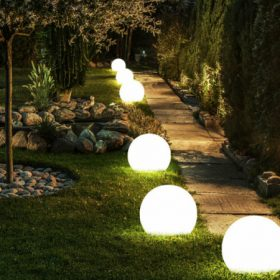Kerti világítások, fények