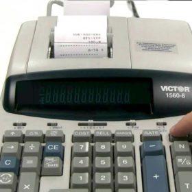 Nyomtatós számológépek