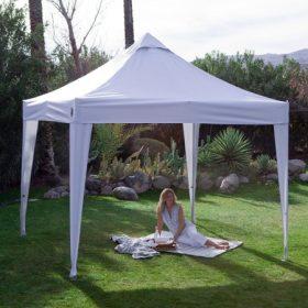 Pavilonok, sátrak, árnyékolók, napernyők