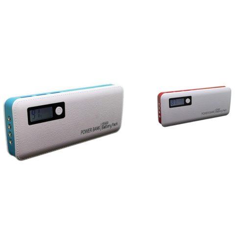 6000 mAh-s PowerBank (kék színben)