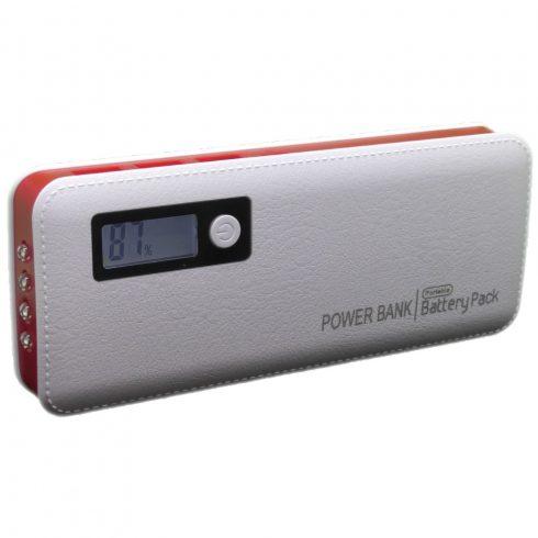 6000 mAh-s PowerBank (piros színben)