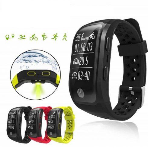 Safako SWP60 GPS okosóra fekete színben