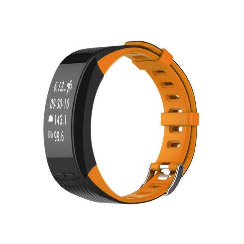 Safako SB9010 GPS okoskarkötő narancssárga-fekete színben