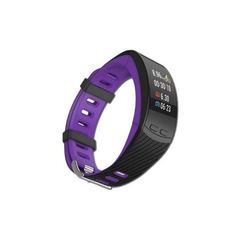 Safako SB9010 GPS okoskarkötő lila-fekete színben